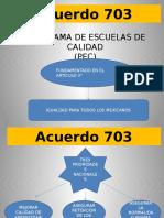 Acuerdo 703