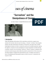 """Surrealism"" and the Omnipotence of Cinema • Senses of Cinema"