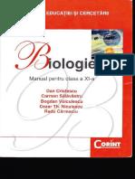 BIOLOGIE Manual Pentru Clasa a XI a Ed Corint