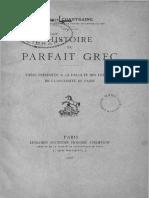 Chantraine Histoire Du Parfait Grec