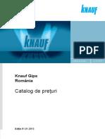 Catalog Knauf Gips 2013