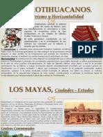 Arquitectura y Urbanismo Los Teotihuacanos y Mayas