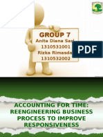 Accounting for Time Reengineering Business Process to Improve Responsiveness