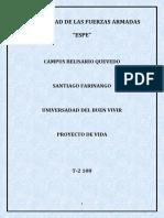 Proyecto de Vida Santiago Farinango PDF