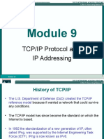 Tcp Ip Protocol and Ip Addressing