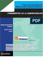 Fundamentos de La Administracion - PRIMAX
