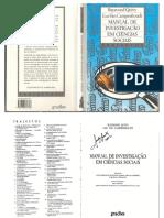 QUIVY e CAMPENHOULDT - Manual de Investigacao Em Ciencias Soci