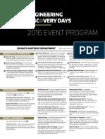 Discodays2016 Program
