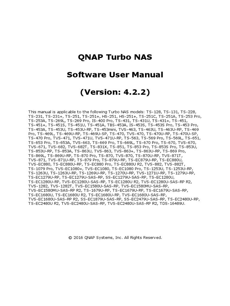 QTS User Manual Cat2 Eng 4 2 2 | Hard Disk Drive | Finder