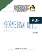 Informe Final de Tic III