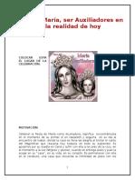 Celebracion de María Auxiliaddora- 2016