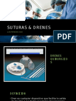 SUTURAS & DRENES