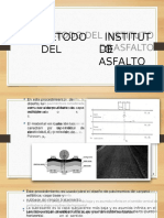Metodo del instituto del asfalto