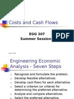 EGG 307 Costs & Cash Flows 5-2016.ppt