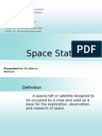 Satellite and Space Station
