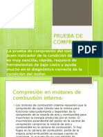 Prueba de Compresion