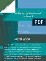 Conflicto Organizacional Cap 9 ado