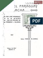 El Paraguay en Marcha de José Rodríguez Alcalá año 1907