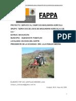 Servicio Al Campo en Maquinaria Agricola