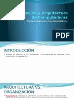 1. Organización y Arquitectura de Computadoras