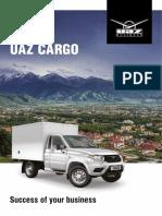 UAZ Cargo 2015 Catalog En