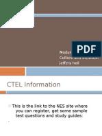 CTEL Module3 Jeff