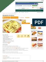 Receita de Sanduíche de Forno - Cyber Cook ReceitasH
