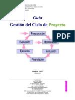 """Mo1001A11e Guía """"Gestión Del Ciclo Del Proyecto"""""""