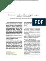 Conocimientos Actuales en La Fisiopatologia d Sepssi C ORTIZ