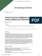 Acerca de las imágenes públicas como política de desmemoria.pdf