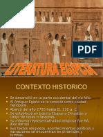 Presentacion de Literatura Egipcia