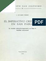 L. Álvarez Verdes, El Imperativo Cristiano en San Pablo