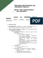 063- Responsabilidad Profesional Del Contador Publico - GERMAN MOZZI