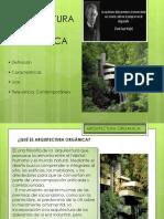 002 Arquitectura Organica Presentacion