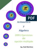 Algebra y Aritmetica Ejercitario