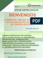 Disposiciones Genéricas Basica 2009-2010