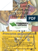 Programa 2011 PRIMARIA