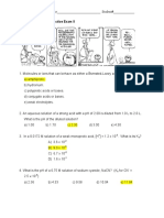 Practice Exam 2 - Solutions