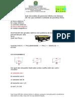 Fisica Questões de Associação de Resistores e Baterias