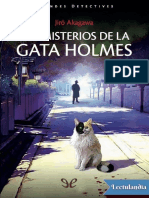 Los Misterios de La Gata Holmes - Jir Akagawa