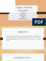 personal codigos