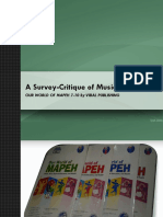 Music Textbook Survey