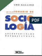 Diccionario de Sociologia - Luciano Gallino