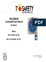 FGD MAN MLP SC1100 Catalytic Bead Combustible Gas Detector