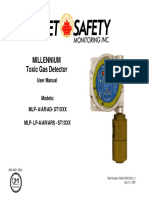 FGD MAN MLP ST Electrochem Toxic Gas Detector