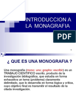 Introduccion a La Monografia
