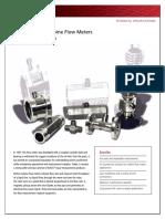 AD01166M NUFLO Liquid Turbine Flow Meters Data Sheet