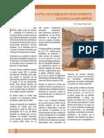 Análisis Legislacion Minero Ambiental
