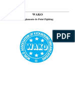 Reglamento Wako Pointfight.