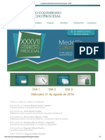 Congreso Colombiano de Derecho Procesal - ICDP